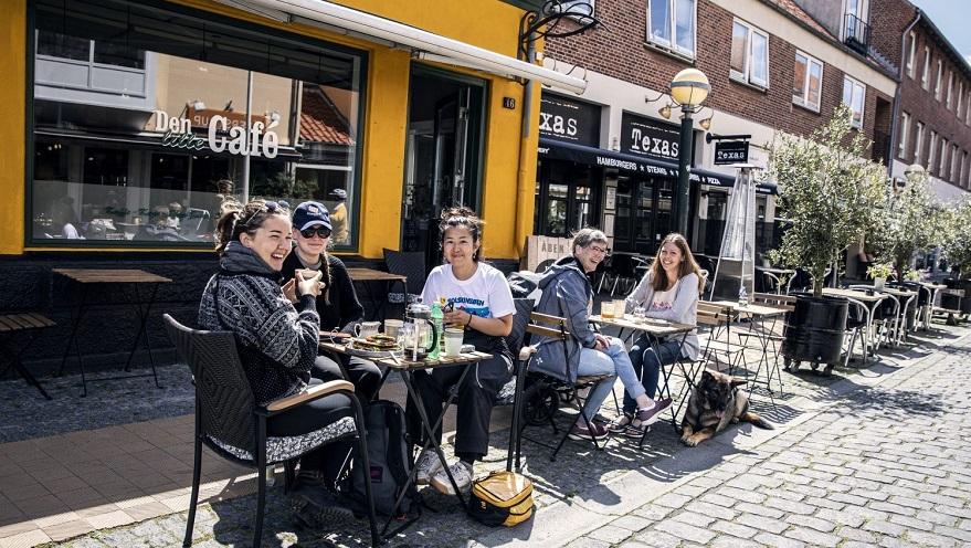 cafémøde i Rønne